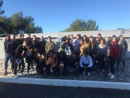{En coulisses} Les Terminales Bac Pro réalise un parcours mémoriel (Camp des Milles)