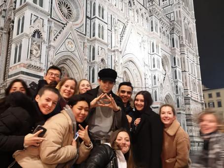 {Voyage scolaire} Les 1MHR3 découvrent la Toscane