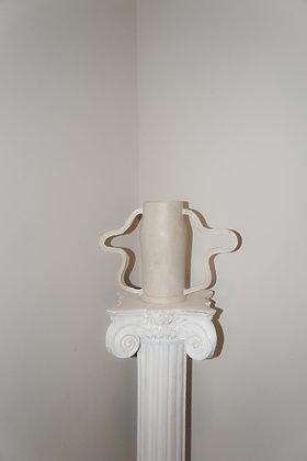 Pre Order White Curvy Amphora
