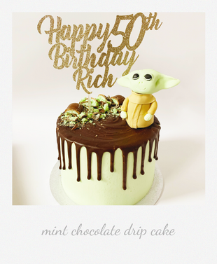 baby yoda mint chocolate drip cake.png