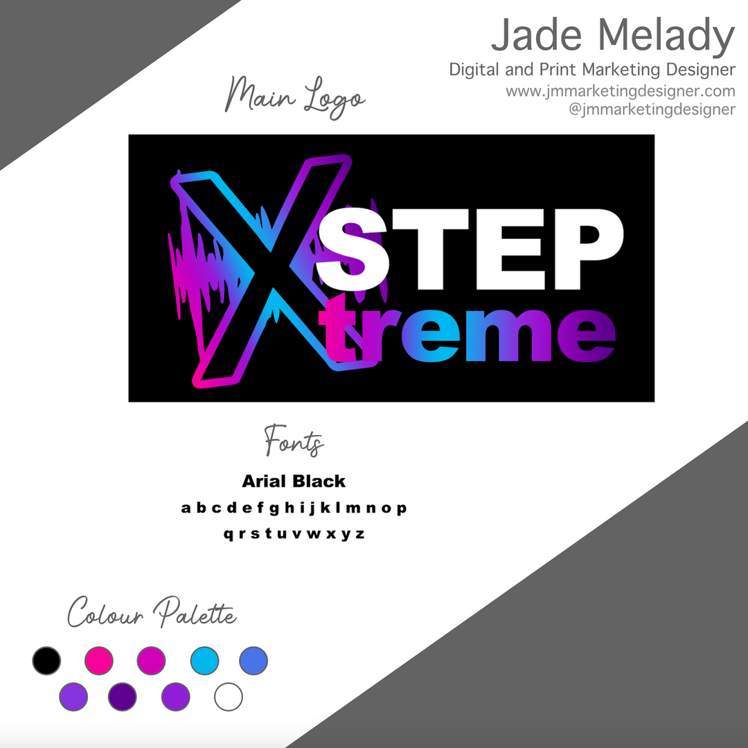 Step XTreme logo by JMMARKETINGDESIGNER