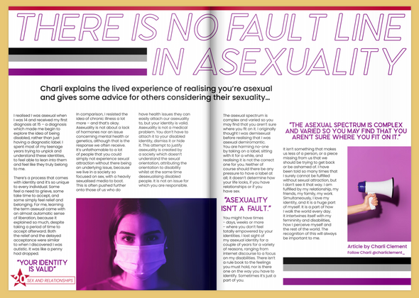 Conscious Being Sex and Relationships Article