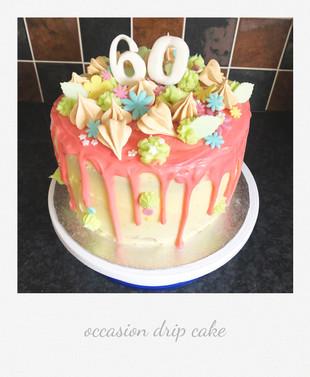 drip cake elegant cute
