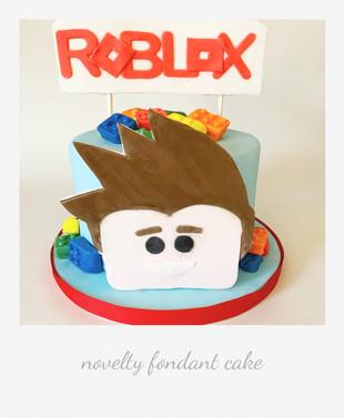 roblox cake fondant