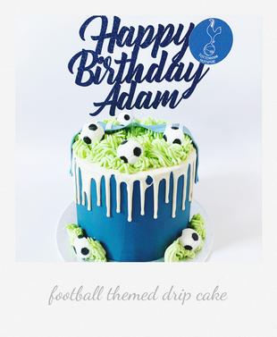 tottenham football drip cake.png