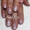 Gel Polish with Nail Art