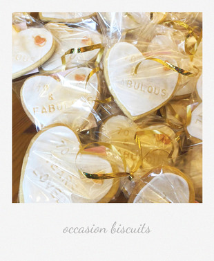occasion iced biscuits