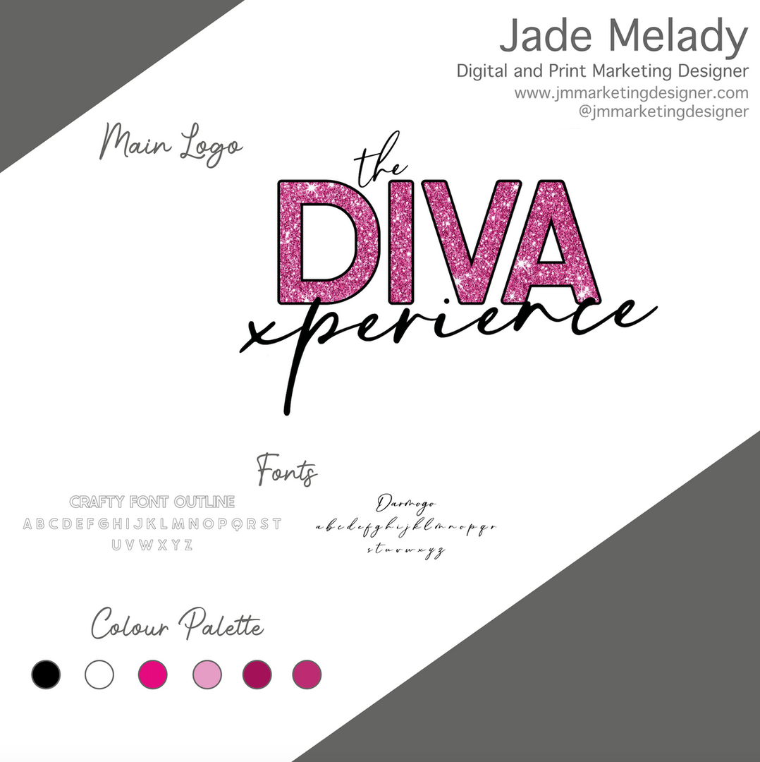 the DIVA expereince logo by JMMARKETINGDESIGNER