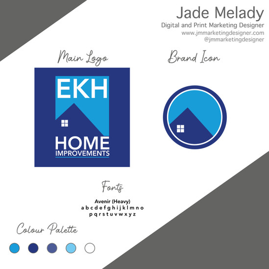 EKH Branding and logo design
