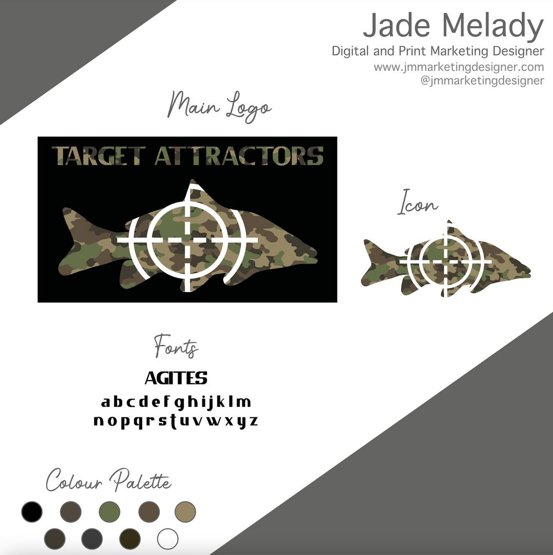 Target Attractors Logo Design and Brandi