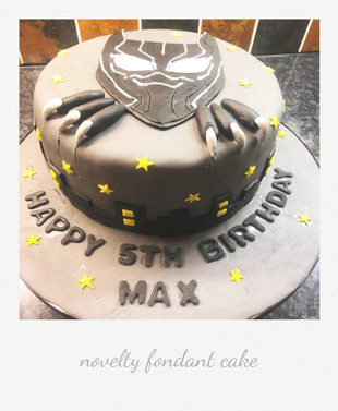 blackpanther themed cake