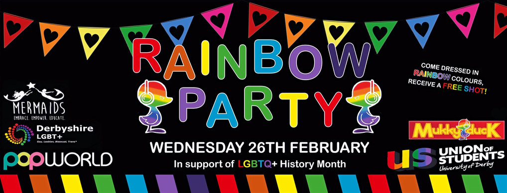 Rainbow Party Facebook Banner