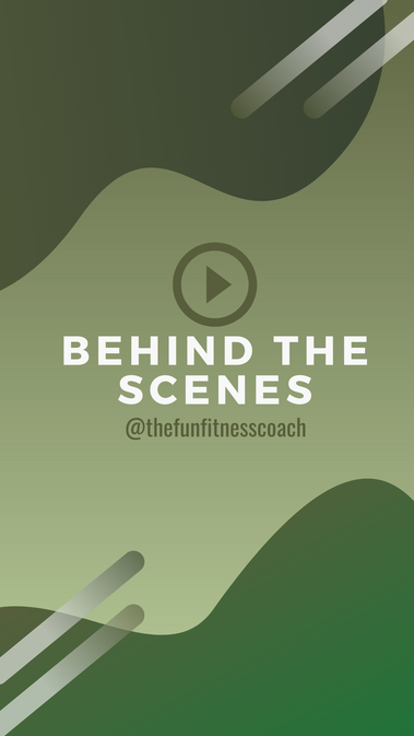 Behind the Scenes Instagram Highlight cover