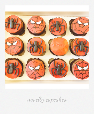 spiderman themed novelty cupcakes.png