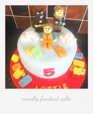 lego cake fondant