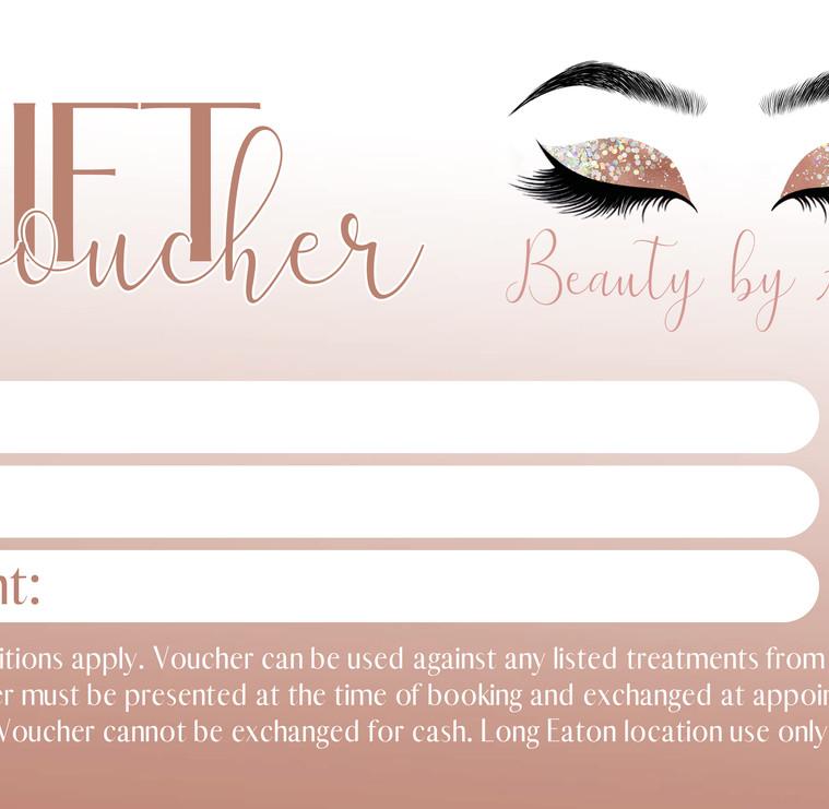 BBA Gift Voucher Design