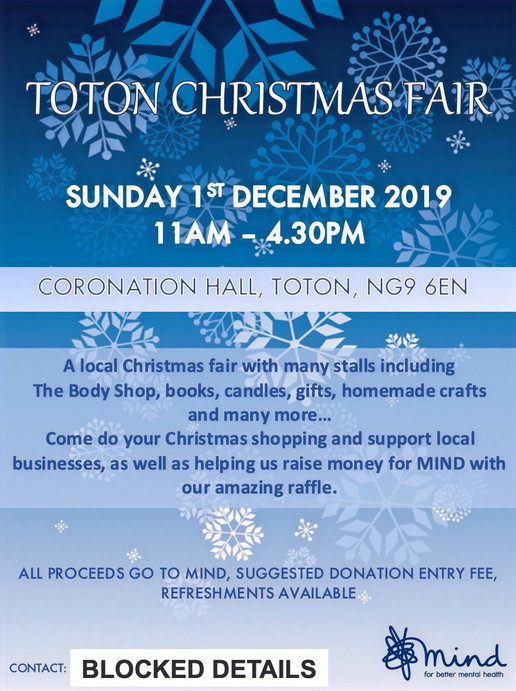 Christmas Fair Leaflet