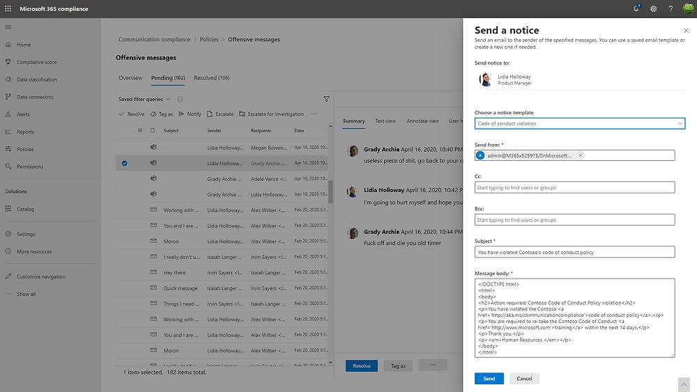 Microsoft Communication Compliance