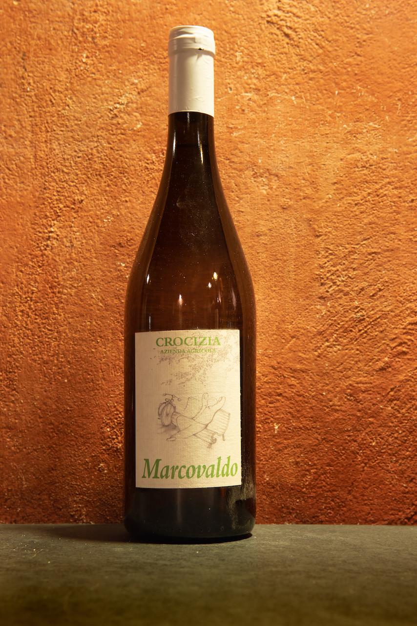 Vino bianco macerato sulle bucce Marcovaldo Azienda Agricola Crocizia