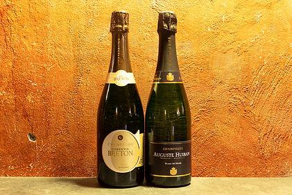 - Champagne Corentin Breton, Brut Nature  - Champagne Auguste Huiban, Blanc de Noirs Brut