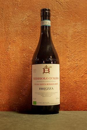 "Nebbiolo d'Alba ""Vigna Santa Rosalia"" 2017 Brezza"