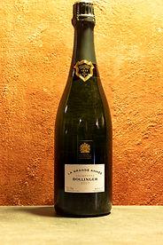 """Champagne """"La Grande Année"""" 2007 Bollinger"""