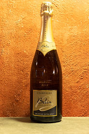 Champagne Millésime Extra Brut 2012 Belin Gérard