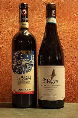 """Pacchetto """"I Classici del Vino Italiano"""""""