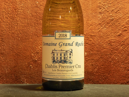 "Chablis 1er Cru ""Les Beauregards"" 2018, Domaine Grand Roche - Calendario dell'Avvento, giorno 11"
