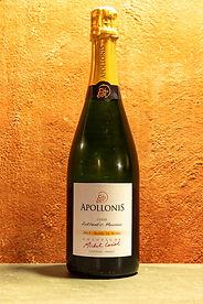 """Champagne Blanc de Noirs Brut """"Authentic Meunier"""" NV Apollonis"""