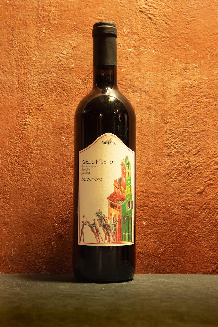 Vino rosso Piceno Superiore, 2018, Aurora