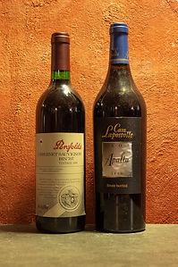 "- Penfolds, Cabernet Sauvignon ""BIN 707"" 1998 - Casa Lapostolle, Clos Apalta 1999"
