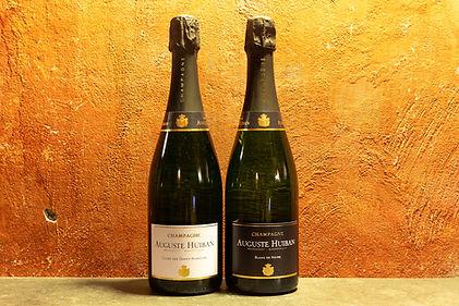 - Champagne Auguste Huiban, Blanc de Noirs NV - Champagne Auguste Huiban, Cuvée de Dames Blanches NV