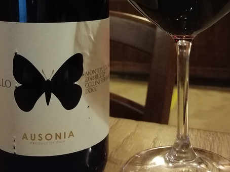 Appunti di degustazione - Ausonia Montepulciano d'Abruzzo Colline Teramane DOCG 2016