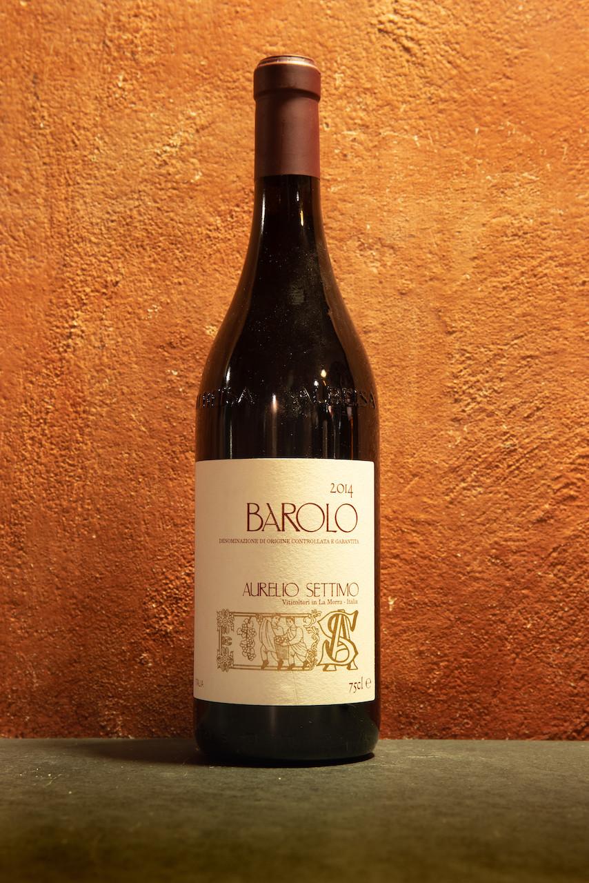Vino rosso Barolo 2014 Aurelio Settimo