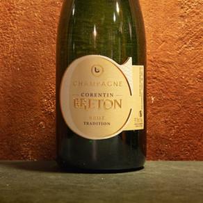 Champagne Brut Tradition, Corentin Breton - Calendario dell'Avvento, giorno 22