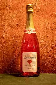 Champagne Brut Rosé de Saignée NV Guy De Forez