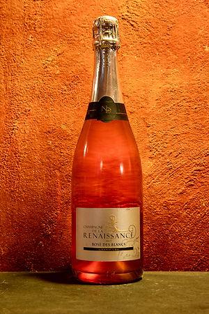 """Champagne Cuvée """"Rosé de Blancs"""" NV De La Renaissance"""
