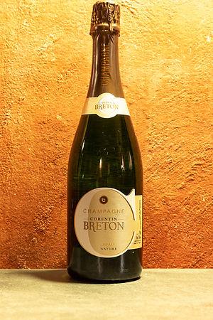 Champagne Brut Nature NV Corentin Breton