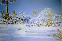 artwork, strange snow,