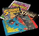 strange tales, comic magazine,
