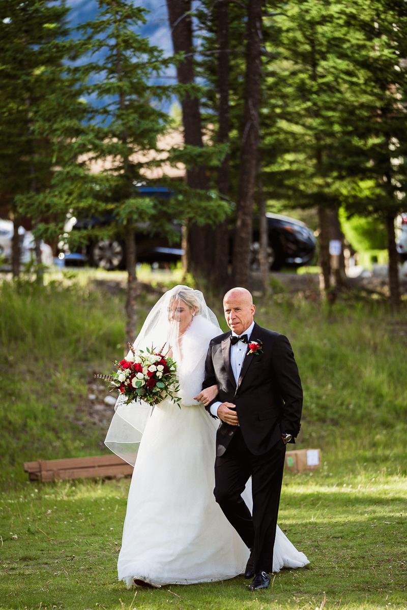 Tunnel Mountain wedding