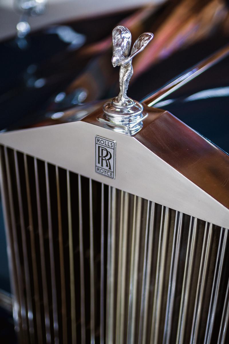 Rolls Royce from Alpine Limo at Banff wedding