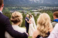 Candid wedding photographer in Banff
