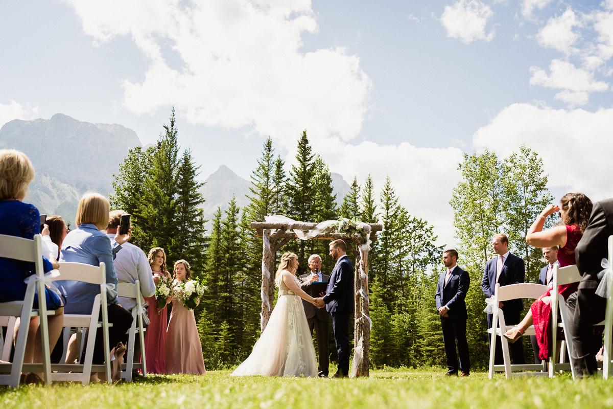 Cornerstone Theatre wedding photographer at wedding ceremony