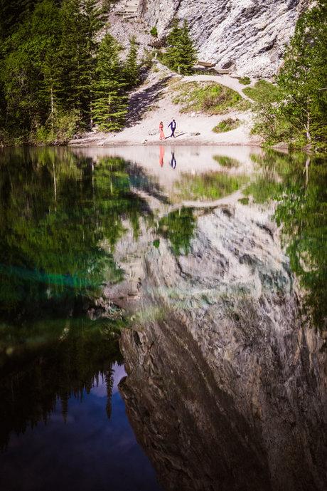 Grassi Lakes wedding photos