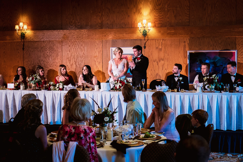 Banff wedding photographer at Banff Park Lodge