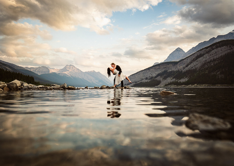 Canmore and Banff wedding photographers pricing and packages