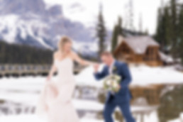 Award-winning wedding photography for your Banff and Canmore wedding