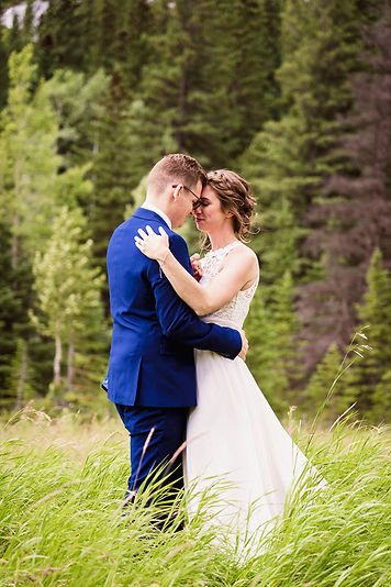 Alex Popov Photography specializes in Banff elopement photography